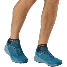 Salomon Sense Ride 3 Scarpe Uomo, lyons blue/smoke blue/lemon zest